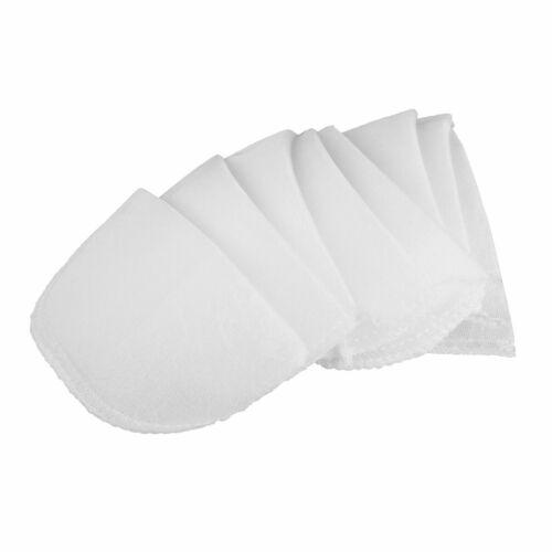 4 Pair Large Foam Shoulder Pads Insert for Women Men Coats Jackets Suit Sewing