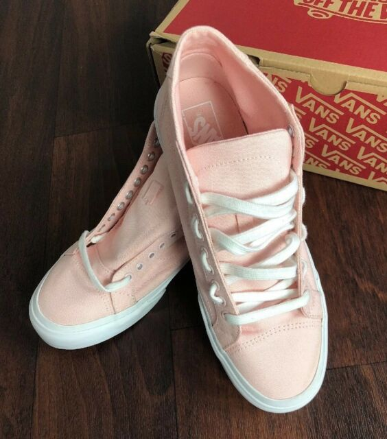245171718d VANS off The Wall Court Mid Canvas Rose Pink QURTZ Shoes Mens 8.5 ...