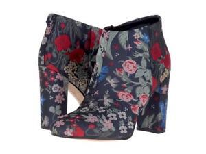 72f769a2e81309 New NIB Sam Edelman Cambell Grey Multi Brocade Floral Tapestry Ankle ...