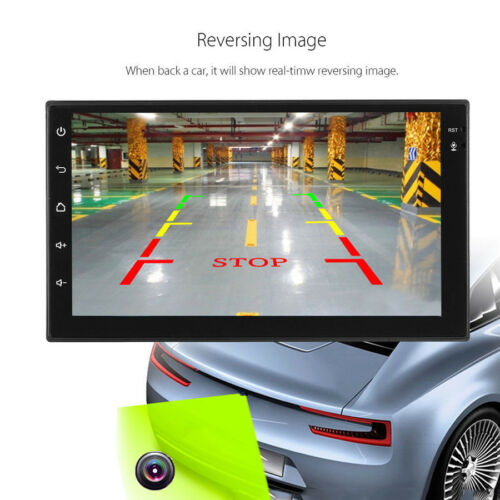 """2 DIN 7/"""" Car Radio Stereo MP5 Player Quad Core Android 6.0 GPS Nav WIFI RDS TMPS"""