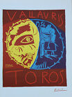 Pablo Picasso Lithograph Vallauris Toros First Edition 1957