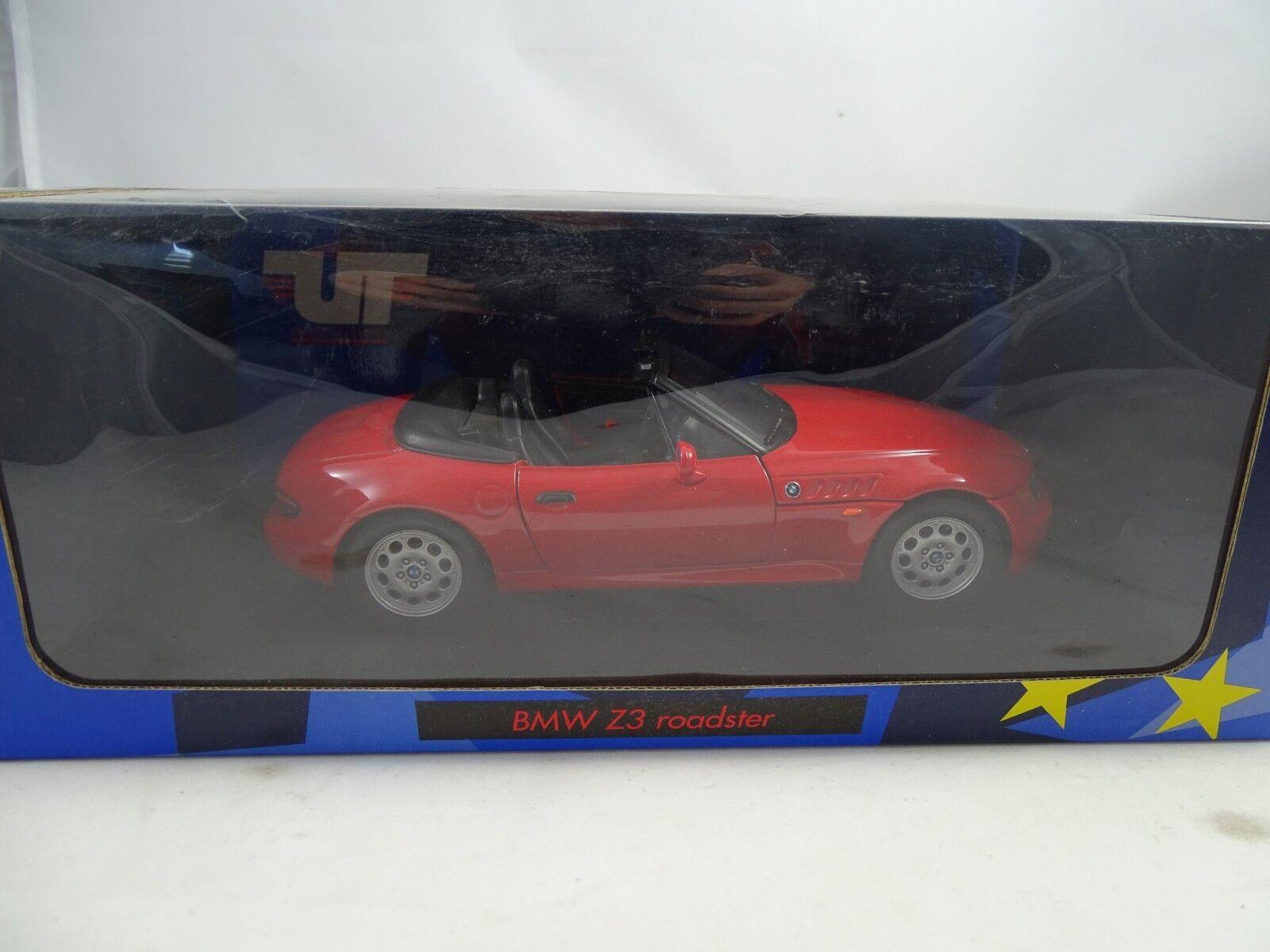 1 18 UT AUTOART  180024330 BMW z3 cabriolet rouge-RARE §