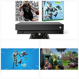 Xbox One X Battle Royale Fortnite And Nba 2k19 Bundle Fortnite