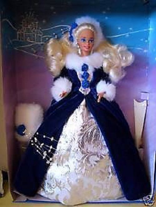 WINTER PRINCESS BARBIE 1993 1   in serie LTD ED mai tolto dalla scatola