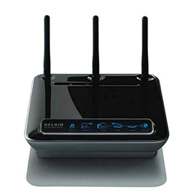 Belkin N1 F5D8231-4 Wireless Router 802.11b/g/n 4-port WiFi Windows Mac v4011