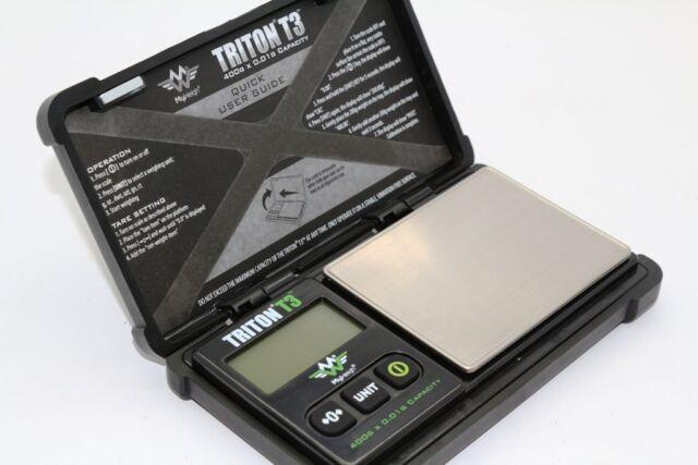 Triton T3 by My weigh 400g x 0.01g Accuracy Digital Scale Tough Design *Genuine*