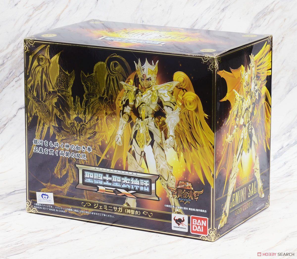 Saint Seiya ab Gemini Gemini Gemini Saga Soul Of Gold God Cloth Ritter die Tierkreis Bandai b144cb