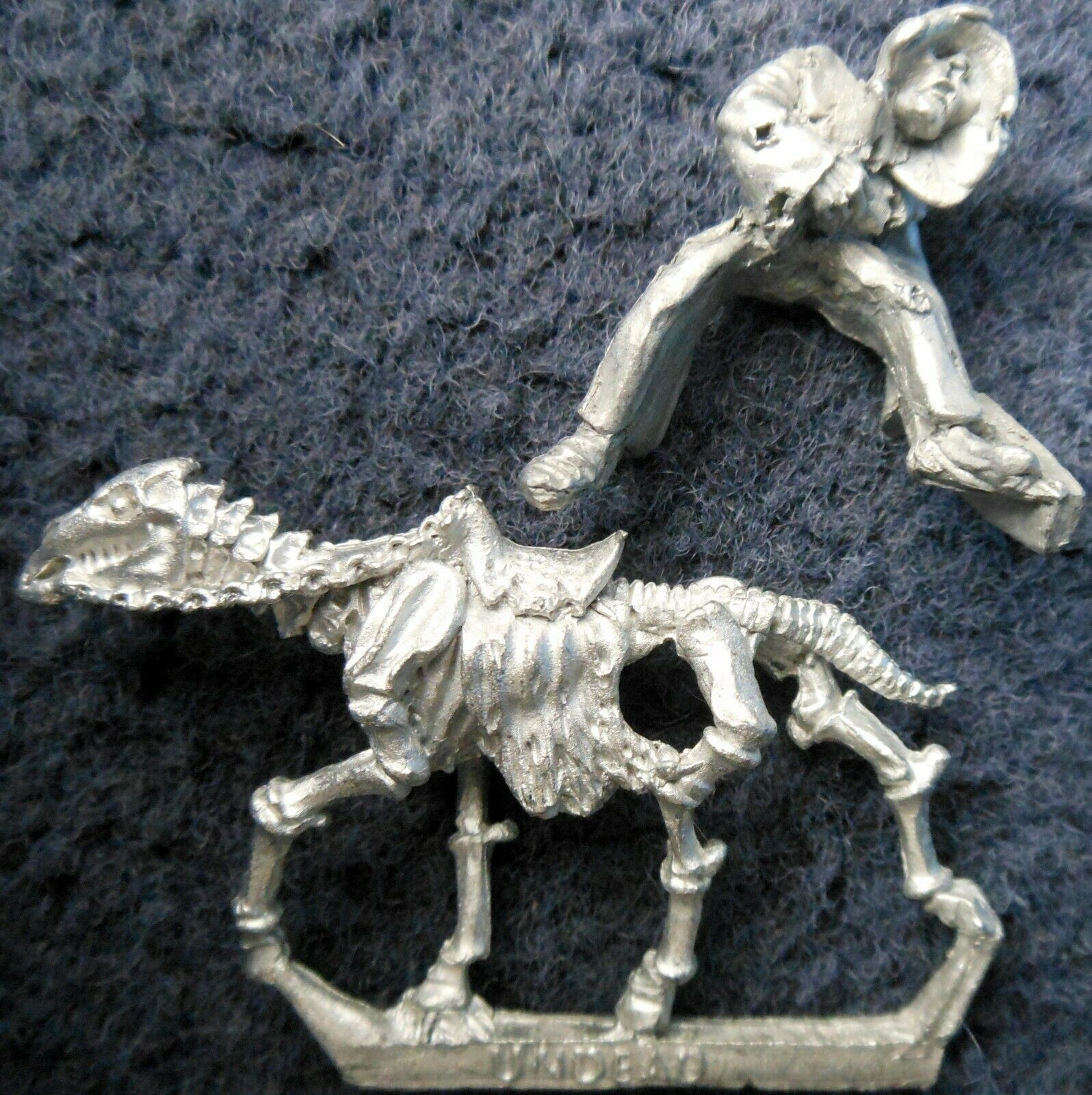 1985 Undead Cavalry C21 9 Elfcleaver A Mounted Skeleton Zombie Citadel Warhammer