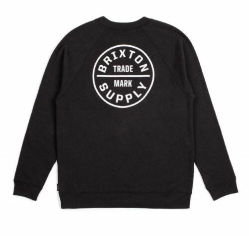 Ed Supply Black Men's Crew Brixton Trade Fleece Co Mark wXqBCTzd