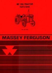 MASSEY-FERGUSON-MF-255-Tractor-Parts-Book-Manual-MF255