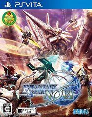 New PS Vita Phantasy Star Nova Japan Import