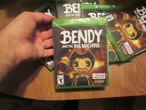 Details about BENDY AND THE INK MACHINE XBOX ONE EXCLUSIVE GAMESTOP BRAND  NEW SEALED 2018
