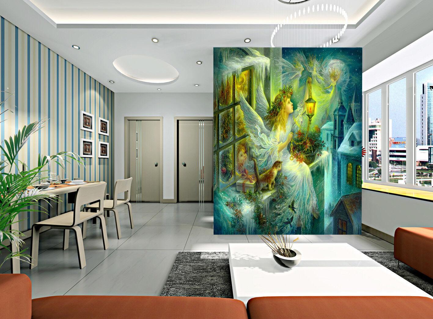 3D Angel Girl Windows 778 Wallpaper Mural Paper Wall Print Wallpaper Murals UK