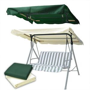 Swing-Canopy-Cover-Replacement-Seat-Top-Outdoor-Garden-Patio-66x45-75x52-77x43