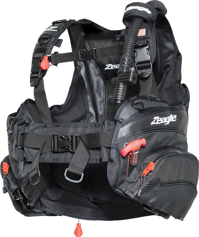Zeagle Halo BCD Scuba Diving Buoyancy 8100RK-LG