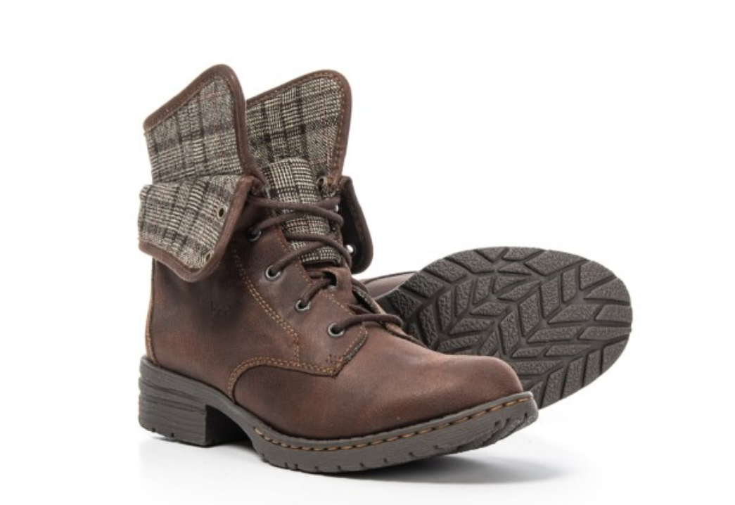 NEW BORN B.O.C BRISTOL BROWN ANKLE BOOTS WOMENS 6.5 STYLE Z34023