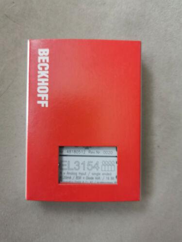 Beckhoff EL3154 4-Kanal Analog-Eingang 4-20mA 16Bit single-ended 2-Leiter