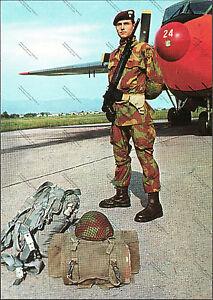 CARTOLINA-D-039-EPOCA-CARABINIERI-PARACADUTISTI-Alterocca-1970