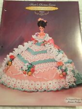 Annie's Attic Belle Of The Ball Glorious Gowns Diana Crochet Doll Pattern
