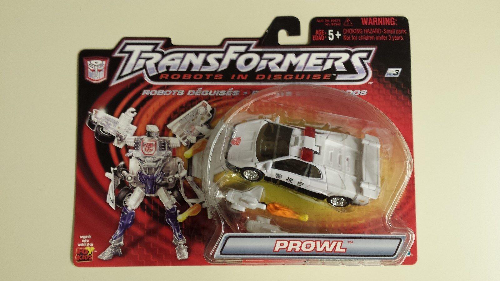 Hasbro Original Original Original Transformers Robots In Disguise Prowl 61d499