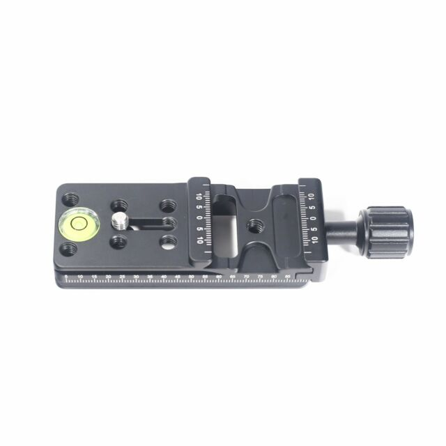 Multi-Purpose 100mm Rail Nodal Slide Quick Release Clamp Panoramic Support Arca