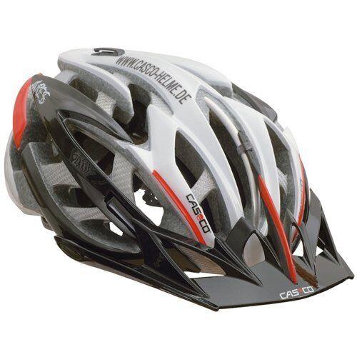 Casco Ares MTB Bicicleta de carretera 30 respiraderos respiraderos respiraderos casco 2 en 1, blancoo Tamaño  L X Negro 7a0e43