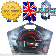 10 AWG GAUGE AMPLIFIER WIRING KIT POWER EARTH SUB SPEAKER CABLE FUSE HOLDER