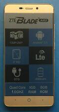ZTE Blade a452 Oro Smartphone 13 MPX FOTOCAMERA BLUETOOTH DUAL SIM WLAN LTE