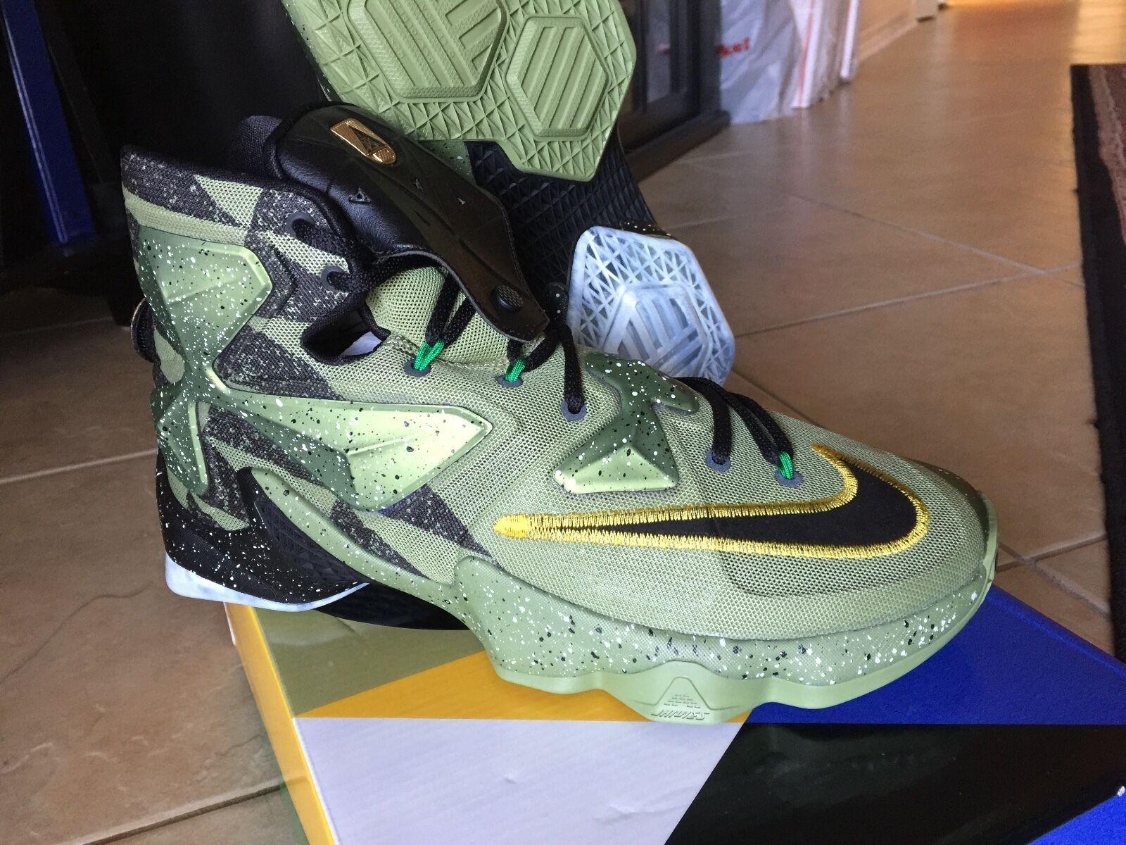 Nike air lebron xii all - star - game 10,5 asg 13 10,5 game 10 9,5 8 - 12 11 schwarz - gold 38696a