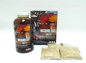 Microbe-Lift-Fall-Autumn-Winter-Prep-bacteria-amp-enzymes-for-Koi-Fish-Water-Ponds