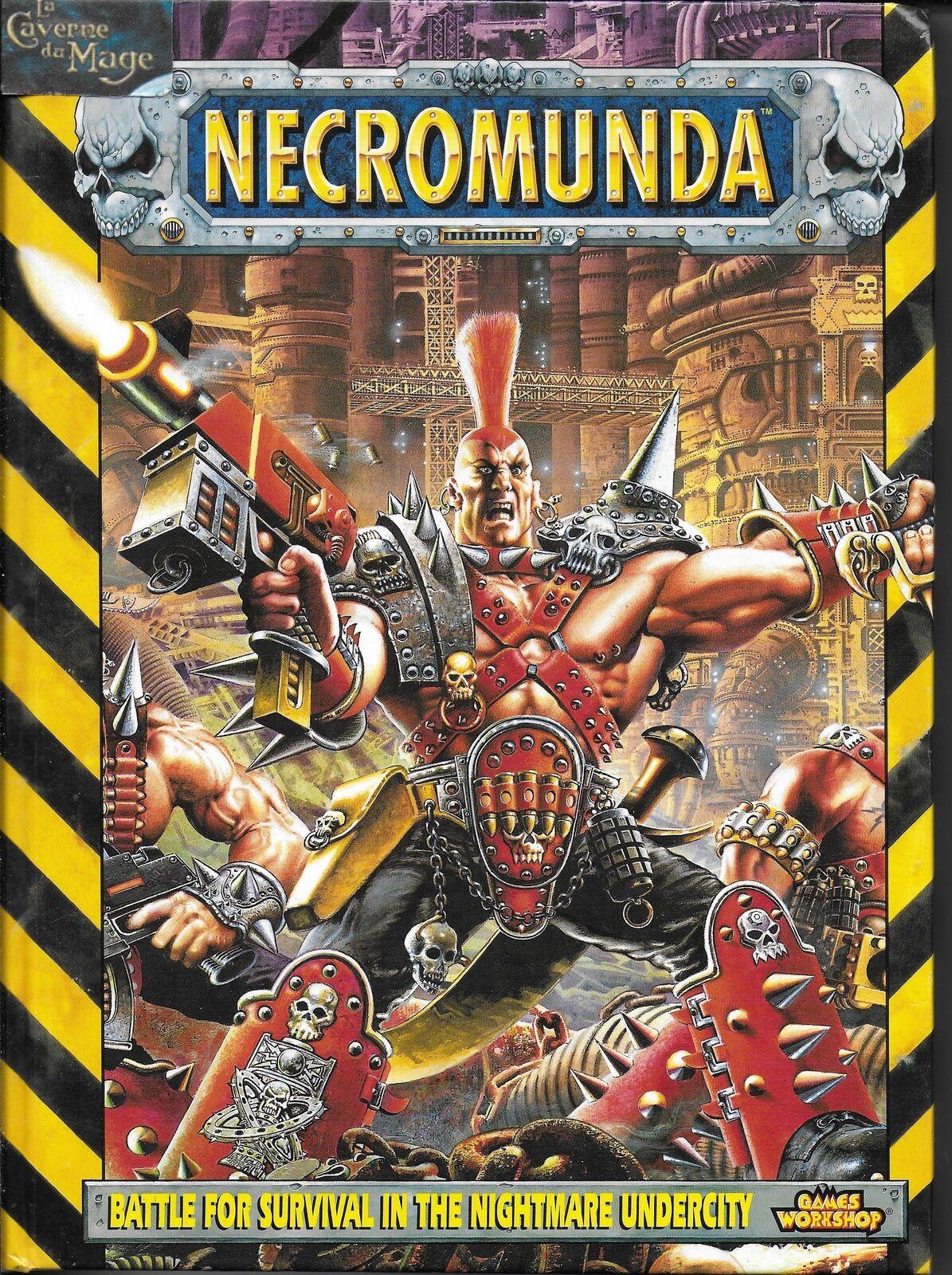 echa un vistazo a los más baratos WARHAMMER WARHAMMER WARHAMMER 40K 40000 NECROMUNDA - Rulebook (1997)  mas barato