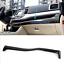 Carbon Fiber Center Console Cover Trim Strips For Toyota Highlander 2015-2018