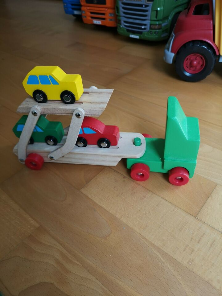 Autotransporter, Lastbil
