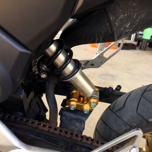 "1.5/"" Height Adjustable Shock Absorber Fit For Honda Grom MSX 125 2014-2018 Lift"
