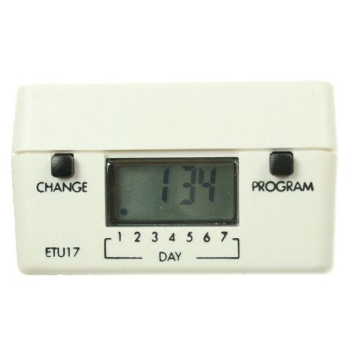 TimeGuard ETU17 branchez minuterie numérique 7 Day//24 heure programmable chronométrée socket