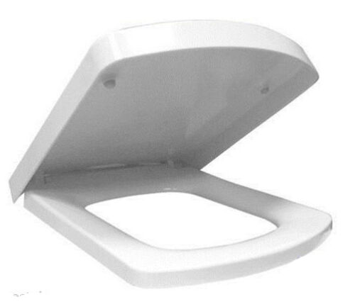 SQUARE SHORT LONG D SHAPE TOP FIX QUICK RELEASE SOFT CLOSE COUPLED TOILET SEAT