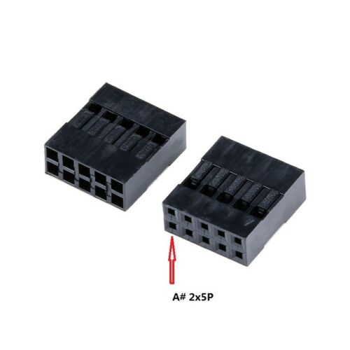 DuPont 2.54mm Double Row 2x2-20p Electrical Connector Terminal Plug-in Housing