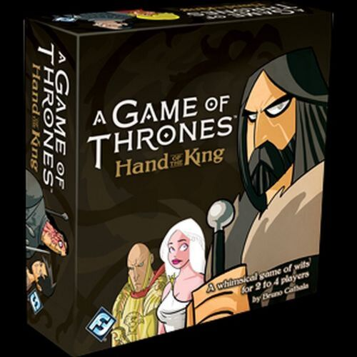 A Game of Thrones main du roi