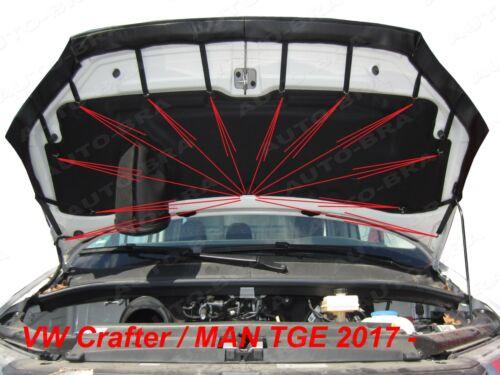 MAN TGE Bj Auto BRA für VW Crafter ab 2017 Steinschlagschutz Haubenbra
