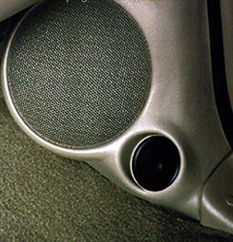 Q-Logic Custom Kick Panel Speaker Mount Pods Ford F150 Super Crew 2000-2003