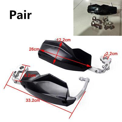 1 Pair Black 22mm 28mm ATV Dirt Bike Hand Guards Protector Motorcycle Handlebar