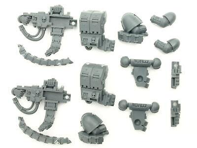 Space Marine Devastator Squad Schwerer Bolter Set 2x Big Pack