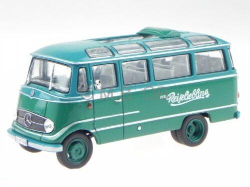 Mercedes O319 D Panorama Bus 1962 green modelcar 1:43