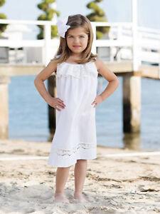 994659c6f NEW Strasburg Children Lace Beach Dress for Girls size 2-10 Photo ...