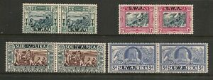 South-West-Africa-1938-Vortekker-Memorial-Set-Mint-Hinged