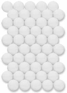 LLLucky 50 Pcs Formation Ping Pong Balls Remplacement Balles De Tennis De Table Balles De Loterie Balles Jeux De F/ête Balles Sport Bi/ère Ping Pong Balles Blanc