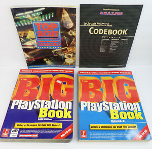 4 Video Game Codes, Strategy & Tips Books Nintendo Passwords PlayStation GamePro