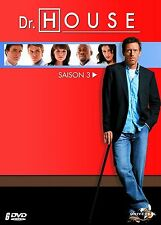 Dr HOUSE  -  Coffret Intégrale de la Saison 3 -  3 boitiers slim - 6 DVD