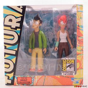 Futurama-Alternate-Universe-1-Fry-amp-Leela-SDCC-2009-San-Diego-Comic-Con-Toynami