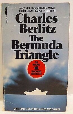 Bermuda Triangle Charles Berlitz FREE AUS POST good used condition paperback '86